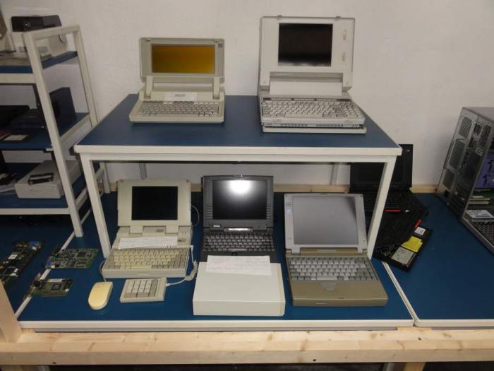 Laptop Sammlung