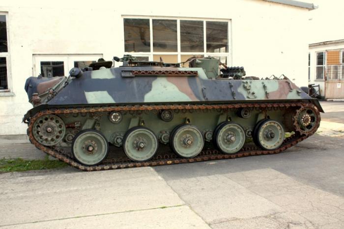 Kanonenjagdpanzer Beobachtung